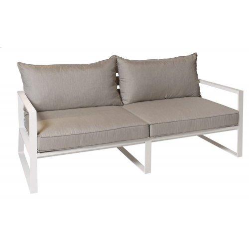 Sofa ogrodowa SAMOS 7206 White 212x91x86,5cm firmy Borek