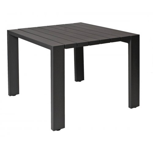 Stół ogrodowy SAMOS Small 7214 Anthracite 100x100x75cm firmy Borek