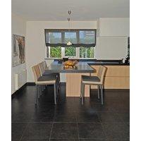 Krzesło obiadowe GENEVA 4202 Anthracite 48x62x87cm frmy Borek