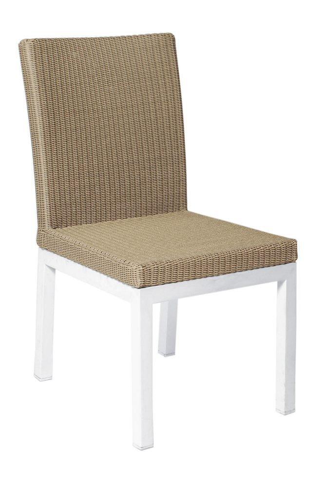 Krzesło obiadowe GENEVA 4201 White 48x62x87cm frmy Borek