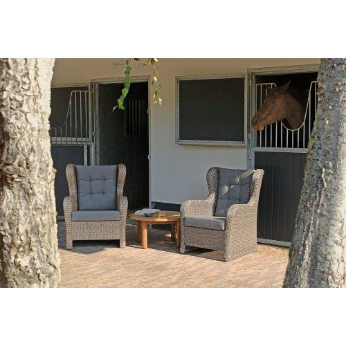 Fotel ogrodowy HAMPTON Lounge 4141 Firmy Borek