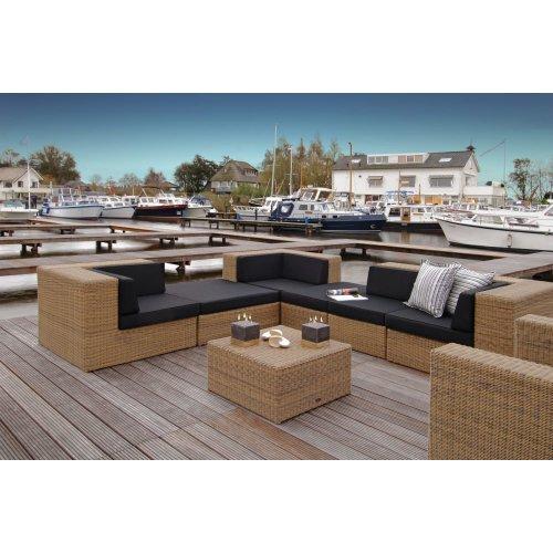Sofa ogrodowa PROVENCE moduł środkowy 4073 Kubu Firmy Borek