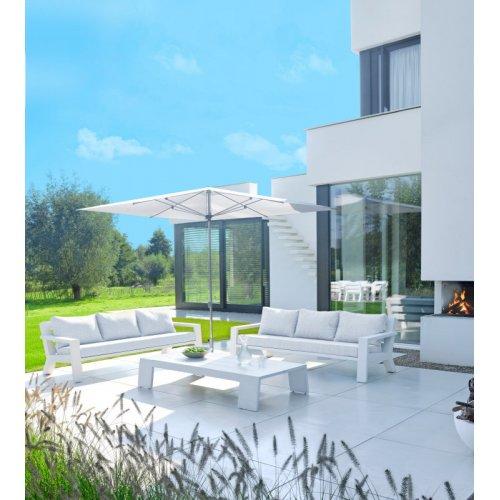 Sofa ogrodowa VIKING 7143 White 218x88x71cm Firmy Borek