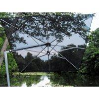 Parasol ogrodowy ISCHIA 2522 2,8x2,8m Black Firmy Borek
