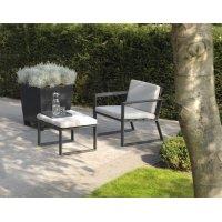 Fotel ogrodowy SAMOS Loveseat 7205 Anthracite 112x91x86,5cm firmy Borek