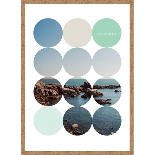 Obraz HORIZON BLUE HAS047403 50x70cm