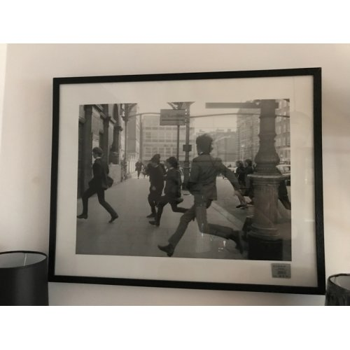 Obraz BEATLES 001 Black 63x80