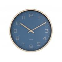 Zegar ścienny GOLD ELEGANT BLUE Ø30cm