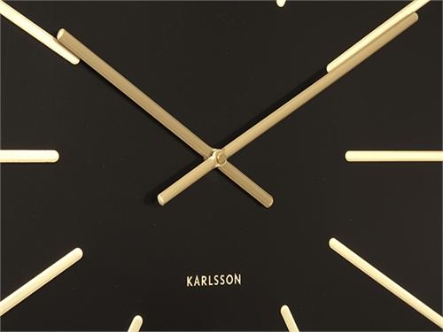 Zegar ścienny MAXI BLACK Ø60cm