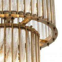 Lampa TIZIANO DOUBLE ANTIQUE BRASS ø 52,5x83 cm 111133 firmy Eichholtz