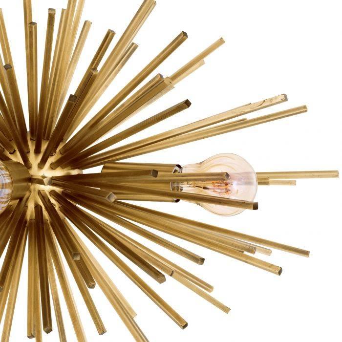 Kinkiet BOIVIN MATTE BRASS 50x37x27 cm 111381 firmy Eichholtz