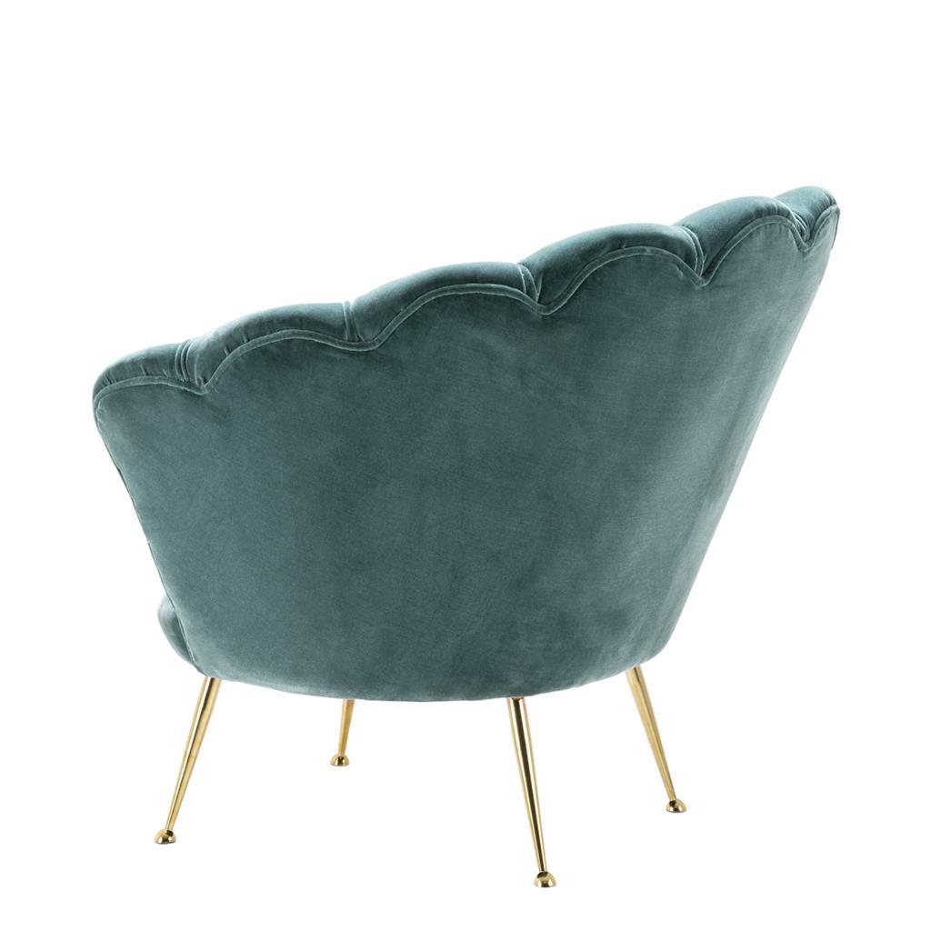 Fotel TRAPEZIUM BLUE 110293 firmy Eichholtz