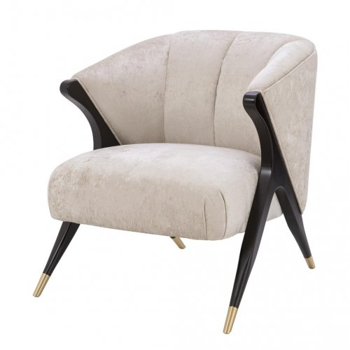 Fotel PAVONE ECRU firmy Eichholtz