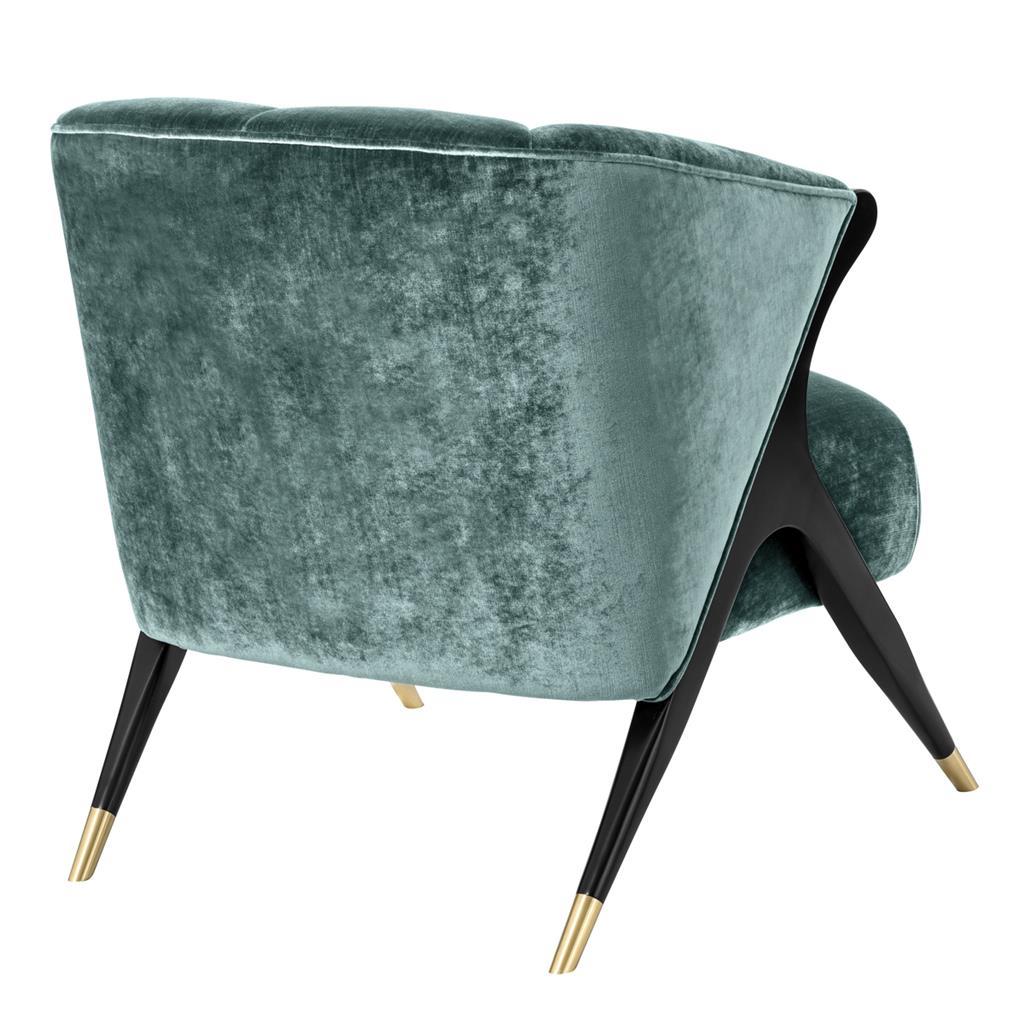Fotel PAVONE BLUE firmy Eichholtz