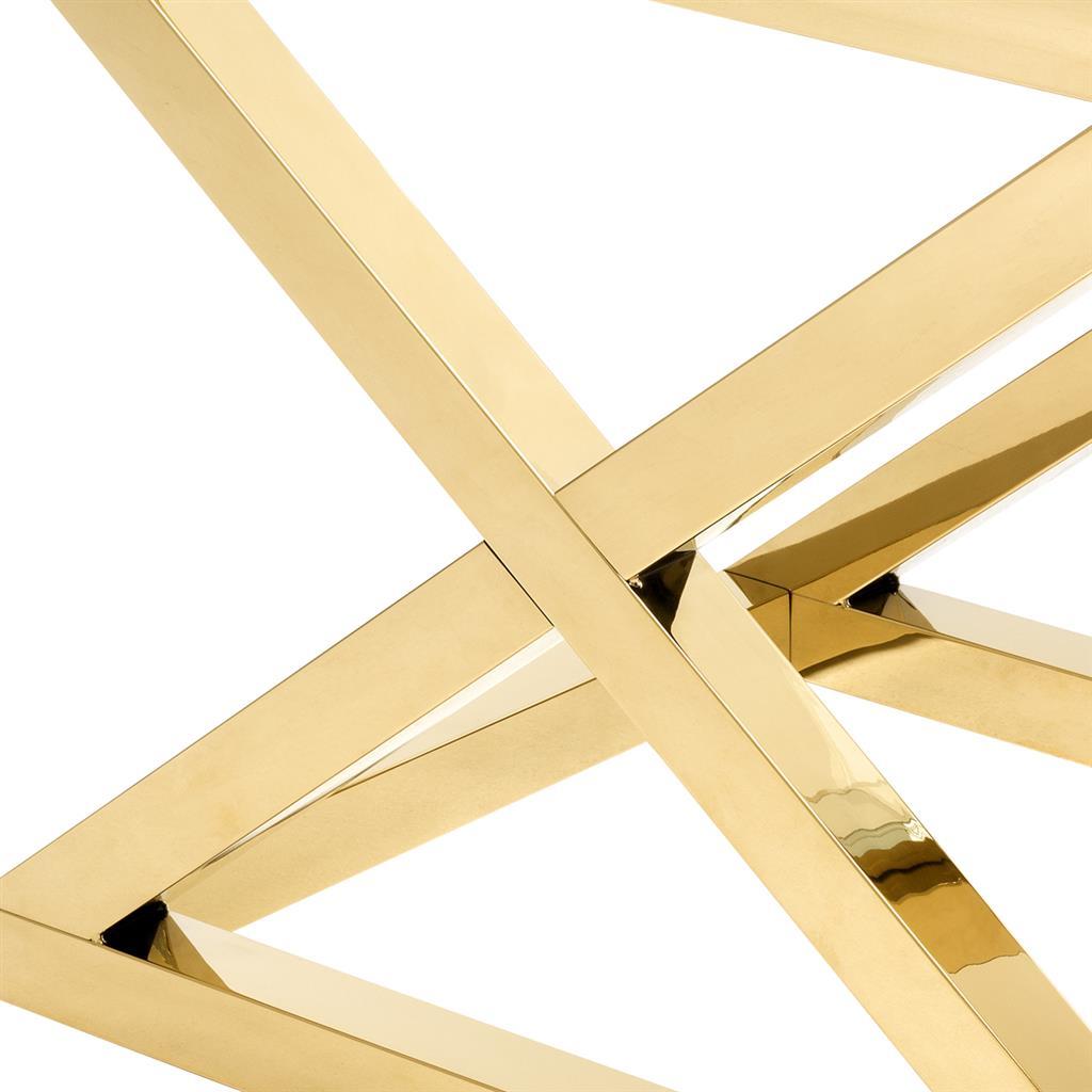 Stolik CURTIS GOLD 61x48x58,5cm 112393 firmy Eichholtz