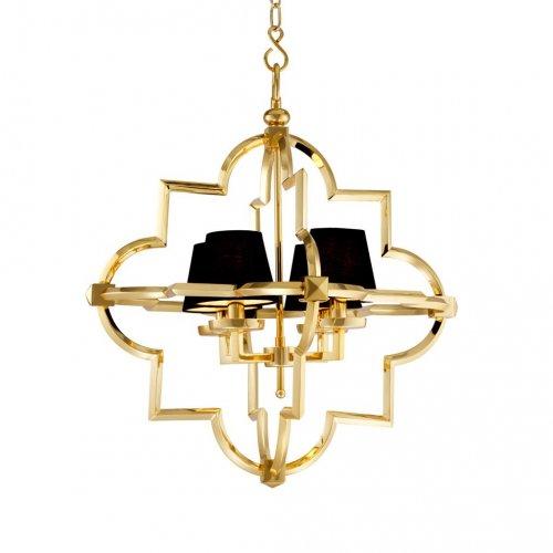 Lampa z abażurami MANDEVILLE gold 67x82cm 109660 firmy Eichholtz