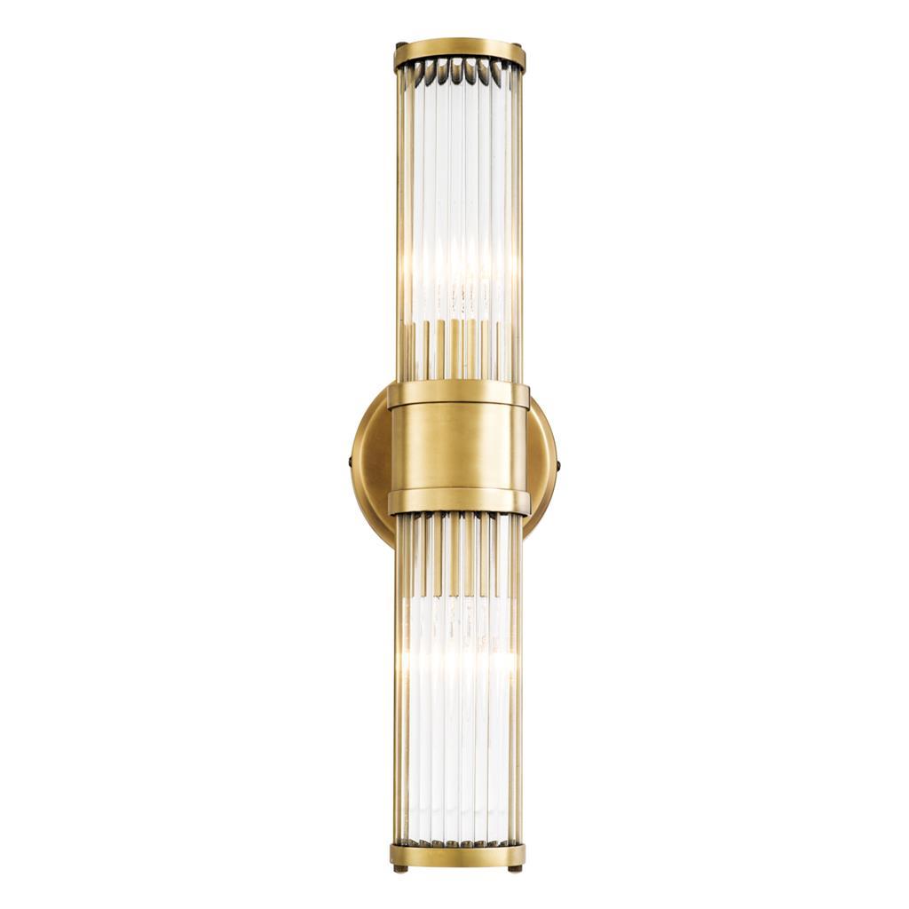 Kinkiet CLARIDGES DOUBLE GOLD12x13x46,5cm 111016 firmy Eichholtz