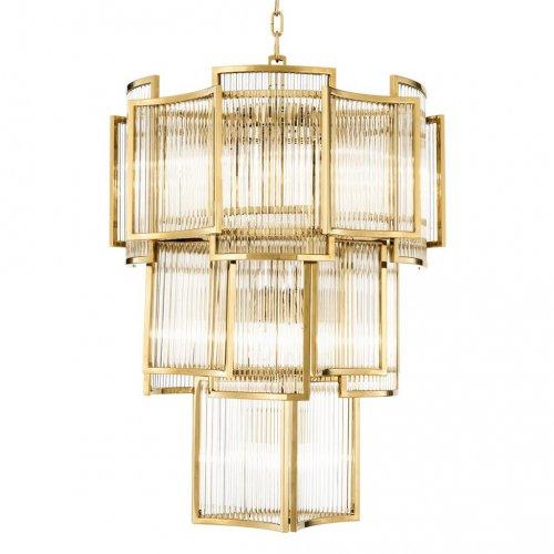 Żyrandol JET SET GOLD 58x84cm 111673 firmy Eichholtz