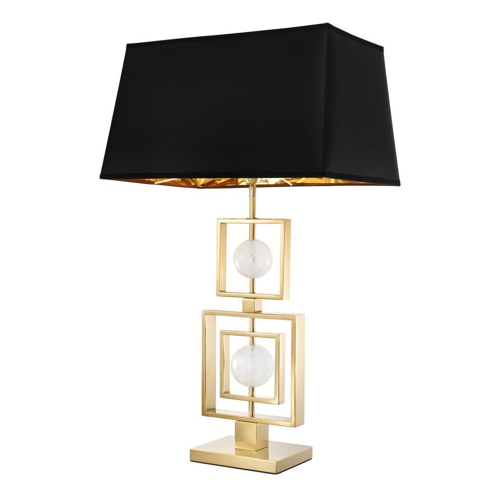 Lampa z abażurem AVOLA GOLD 22x49,5x83cm 112086 firmy Eichholtz