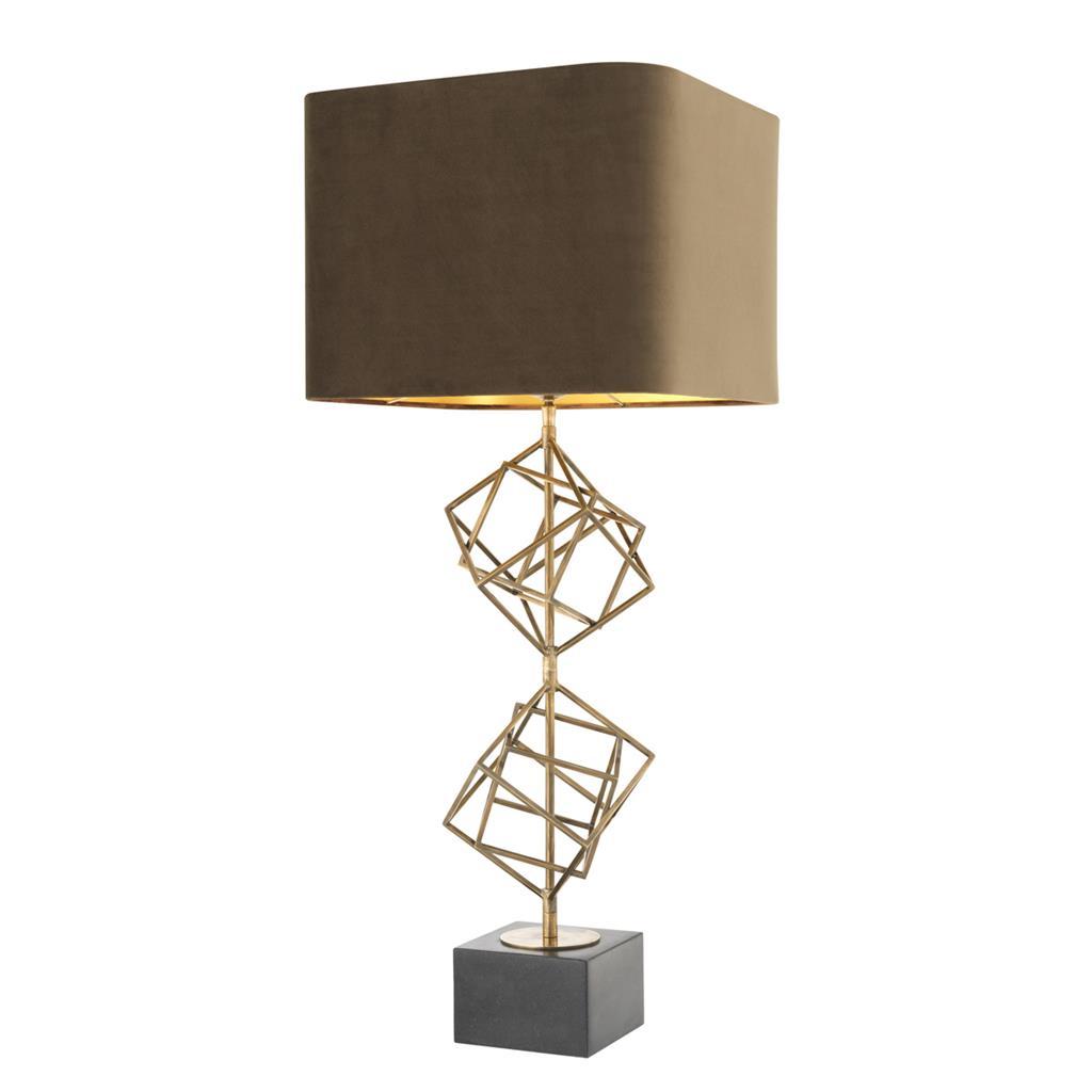 Lampa z abażurem MATRIX firmy Eichholtz