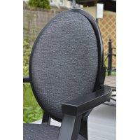 Fotel CLASSIC Panarea czarny B-0253