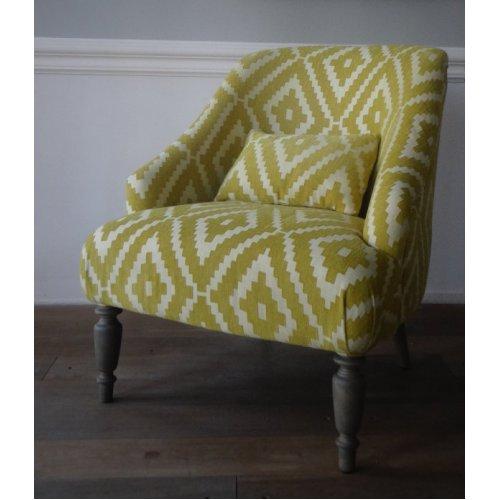 Fotel TOLEDO Yellow