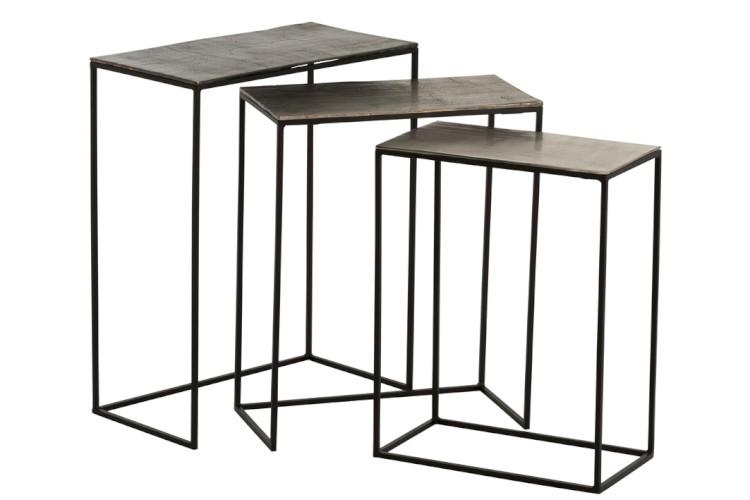 Komplet 3 stolików 86231