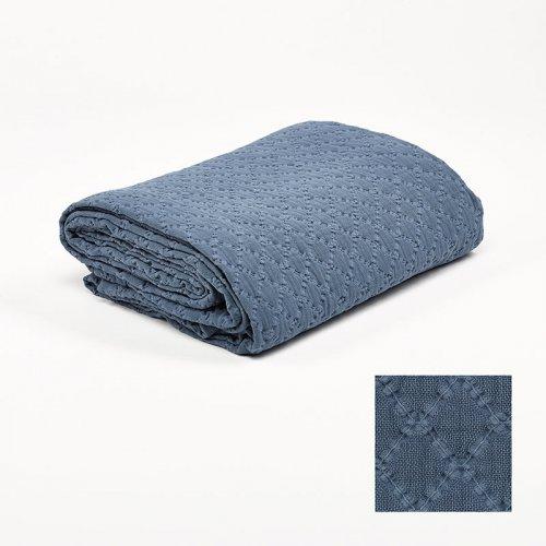 Narzuta niebieska KPS0044 240x260 cm