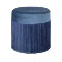 Pufa GRANDMA 82046392 BLUE Ø39x39cm