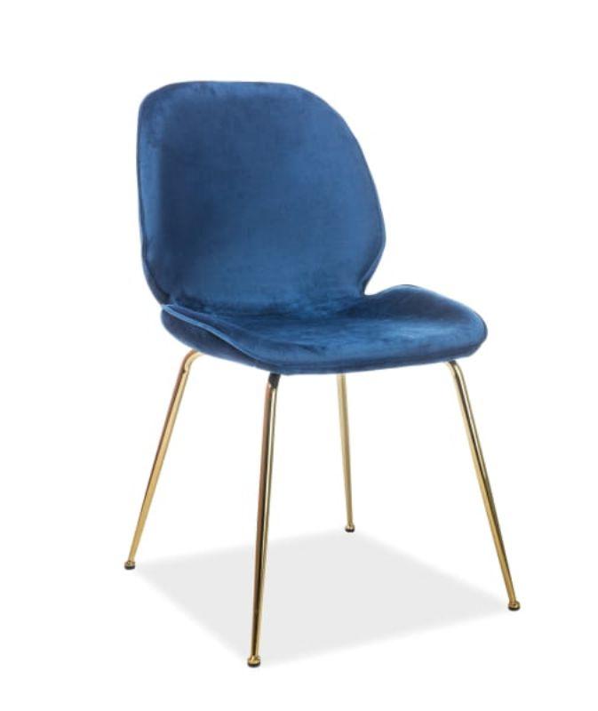 Krzesło ADA BLUE 50x45x87cm