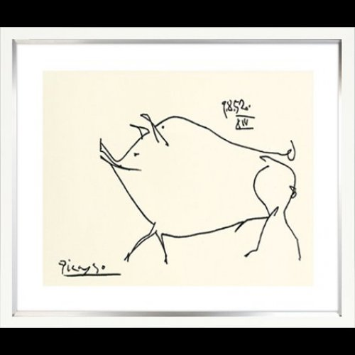 OBRAZ 1220130 COCHON 49x59cm Pablo Picasso