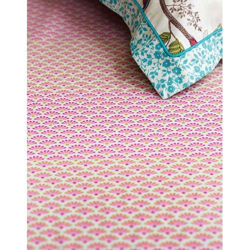 Prześcieradło Pip Studio BLOOMING TAIL Pink rozmiar 160x200