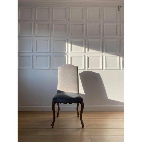 Komplet 6 sztuk krzeseł FAUSTINE 45x48x102cm