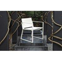 Krzesło ogrodowe SAMOS 7201 White 53x60x80cm firmy Borek