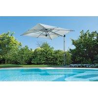 Parasol ogrodowy GARDA 2574 280x280cm White Firmy Borek